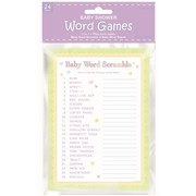 Baby Shower Party Game - Word Game for 24 players