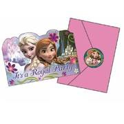 Frozen Invitations with Envelopes Pk 8
