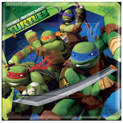 Teenage Mutant Ninja Turtles 9in Square Paper Plates Pk 8