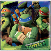 Teenage Mutant Ninja Turtles 7in Square Paper Plates Pk 8