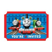 Thomas and Friends Invitations Pk 8