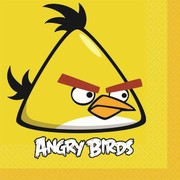 Angry Bird Party Napkins - Lunch Pk 16