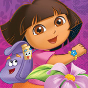 Dora the Explorer 2Ply Lunch Napkins Pk 16