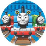 Thomas and Friends 7in. Paper Plates Pk 8