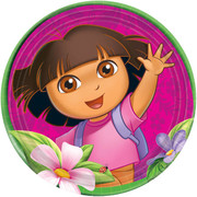 Dora the Explorer Paper Plates (9in-23cm) Pk 8