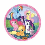 My Little Pony 9in Paper Plates Pk 8
