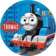 Thomas and Friends 9in. Paper Plates Pk 8