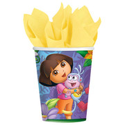 Dora the Explorer 9oz Paper Cups Pk 8