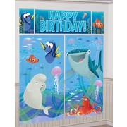 Finding Dory Giant Scene Setter Wall Decorating Kit - 5 Piece Set