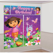 Dora The Explorer Scene Setter Wall Decorating Kit Pk 5