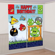 Angry Birds Scene Setter Wall Decorating Kit Pk 5