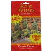 Decoration Scene Setter Desert Flora Room Roll Pk1