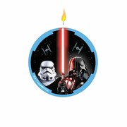 Star Wars Classic Flat Candle Pk 1