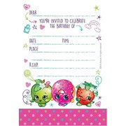 Shopkins Invitations Pk 8