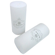 White Unscented Pillar Candle (7x15cm) 1 Pk of 12 Candles