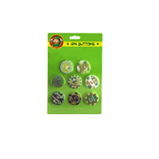 St Patricks Day Badges Pk 8 (Assorted Designs)