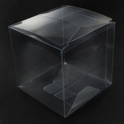 Bonbonniere Box Clear 80x80x80mm Pk25