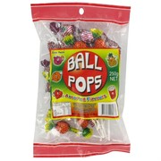 Assorted Ball Pops - Lollipops 250g Pk 36