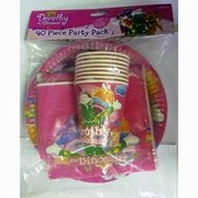 Wiggles Dorothy the Dinosaur Party Pack for 8 Pk 40