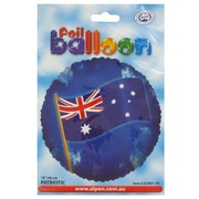 Balloon Foil 18in Australian Flag Pk1