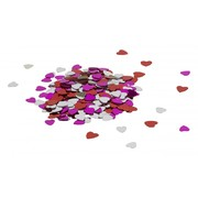 Small Assorted Colour Hearts Confetti Scatters (15g)