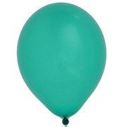 Balloons Latex Metallic 11in Green Pk100