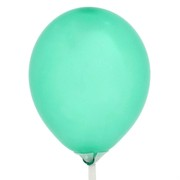 Balloons Latex Metallic 5in Green Pk100