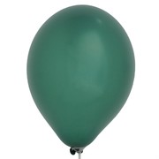 Balloons Latex Metallic 11in Oxford Green Pk25