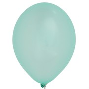 Balloons Latex Metallic 11in Light Green Pk100