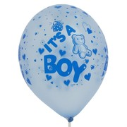 Baby Shower Latex Balloons - It's a boy  Pk10