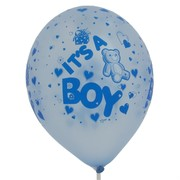 Baby Shower Latex Balloons - It's a boy Pk50