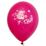 Balloons Latex 2 Sided Fairy Pk10