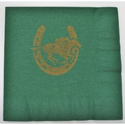 Dark Green Horse Racing Lunch Napkins 2Ply  Pk 16