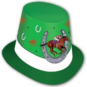Green Horse Racing Top Hat Pk 1