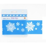 Christmas Snowflake Party Tape 6m Pk1