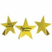 Gold Star Place Cards Pk 8
