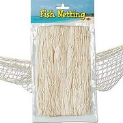 Natural Fish Netting Decoration Pk 1