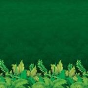Jungle Foliage Backdrop Scene Setter (1.2x9.1m) Pk 1