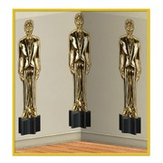 Awards Night Statue Scene Setter Backdrop 1.2x9.1m Pk 1