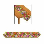 Hawaiian Luau Plastic Table Runner (1.8m) Pk 1