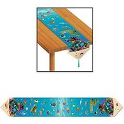Under the Sea Plastic Table Runner (1.8m) Pk 1