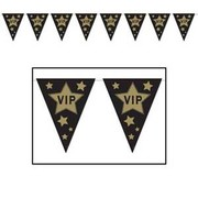VIP Pennant Banner Bunting 3.7m Pk 1