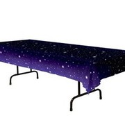Starry Night Plastic Tablecover 137x274cm Pk 1