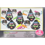 Neon Midnight New Year Party Kit for 10