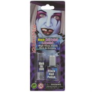 Halloween Black Nail Polish & Lipstick Pk 1