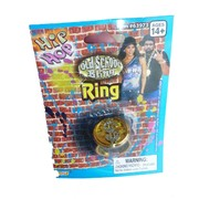 Rock Party Jewellery  - Bling $ Gold Ring Pk1