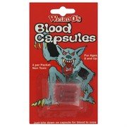 Fake Blood Capsules Pk 4