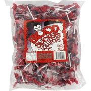 Bloodsucker Red Lollipops 1kg Pk 143
