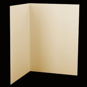 Bi-Fold Card Pack C5 Via Cream White Pk20