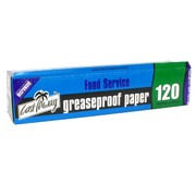 Paper Greaseproof Dispenser 120mx30cm Pk1